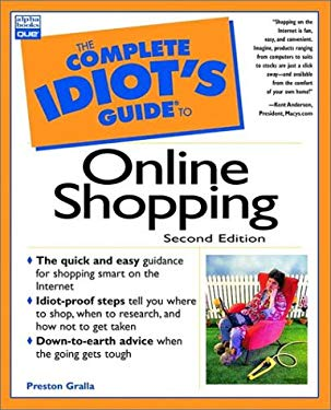 Complete Idiot's Guide to Online Shopping 9780789721303