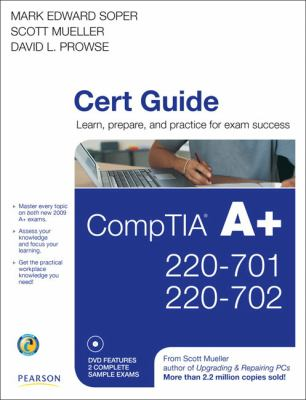 CompTIA A+ Cert Guide: 220-701, 220-702 [With DVD ROM] 9780789740472
