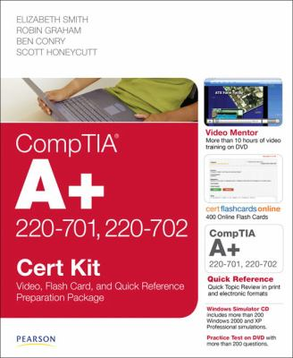 Comptia A+ 220-701 and 220-702 Cert Kit: Video, Flash Card and Quick Reference Preparation Package 9780789742438