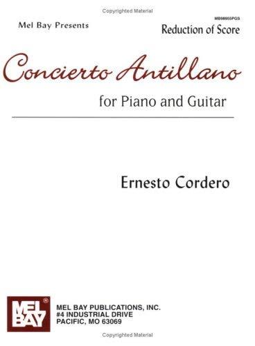 Concierto Antillano for Piano and Guitar: Reduction of Score