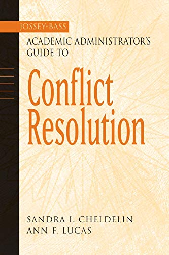 Conflict Resolution 9780787960537
