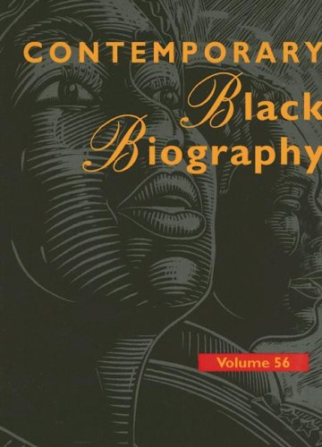 Contemporary Black Biography: Profiles from the International Black Community 9780787679286