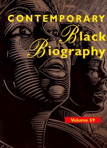 Contemporary Black Biography: Profiles from the International Black Community 9780787679316