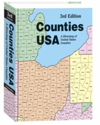 Counties USA: A Directory of United States Counties 9780780808218