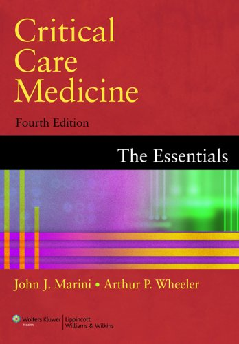 Critical Care Medicine: The Essentials 9780781798396