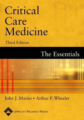 Critical Care Medicine: The Essentials 9780781739160