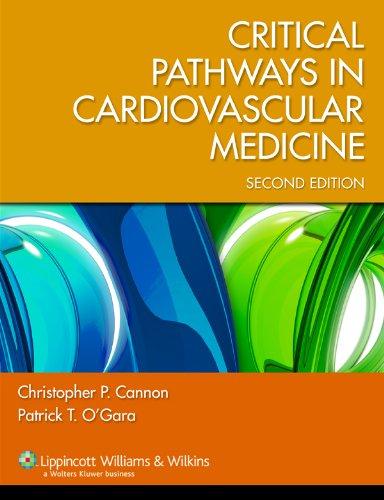 Critical Pathways in Cardiovascular Medicine 9780781794398