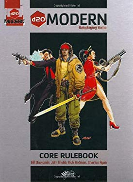 D20 Modern Roleplaying Game: A D20 System Core Rulebook 9780786928361