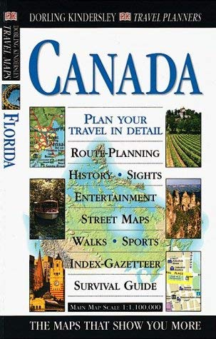 DK Travel Planner Canada [With Folded Map] 9780789448484