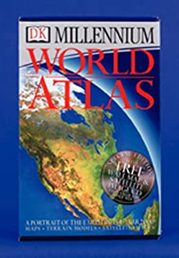 DK World Atlas [With Satellite Image CD and Wall Map] 9780789446046