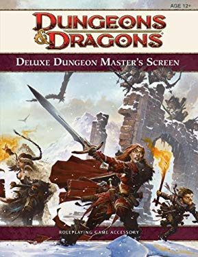 Dungeons & Dragons Deluxe Dungeon Master's Screen 9780786957439