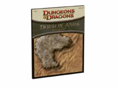 Desert of Athas - Dungeon Tiles: A 4th Edition D&d Accessory 9780786953981