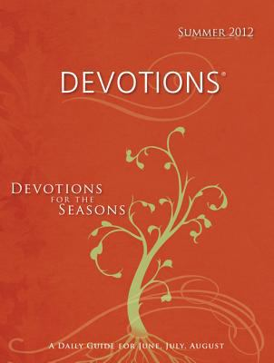 Devotions Large Print-Summer 2012 9780784747643