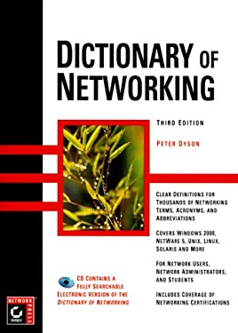 Dictionary of Networking [With *] 9780782124613