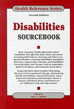 Disabilities Sourcebook 9780780812222