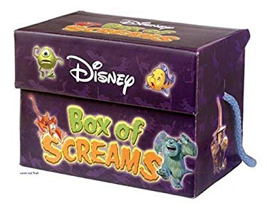 Disney Box of Screams Boxed Set [With Trick-Or-Treat Bag] 9780786835188