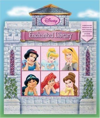 Disney Princess: Enchanted Library Boxed Set (with Mini Books) [With Stickers and Poster] 9780786835454