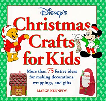 Disneys Christmas Crafts For Kids By Marge M Kennedy