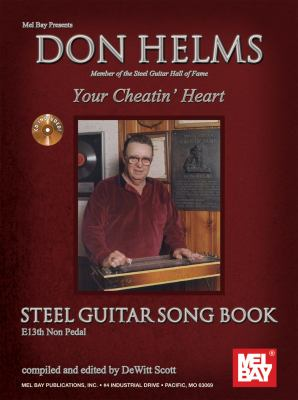 Don Helms Your Cheatin Heart Steel Guitar Song Book [With CD (Audio)] 9780786682157