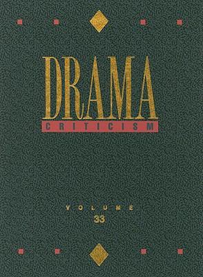 Drama Criticism, Volume 33 9780787681173