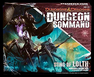 Dungeon Command: Sting of Lolth: A Dungeons & Dragons Expansion Pack 9780786960170