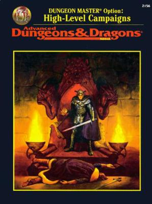 Dungeon Master Option Rule Book: High-Level Campaigns 9780786901685