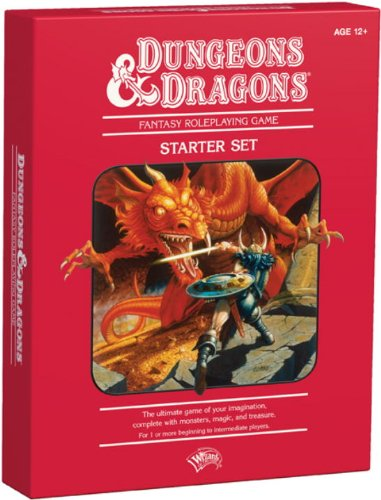 Dungeons & Dragons Fantasy Roleplaying Game: An Essential D&d Starter [With Dice and Cards and Map]