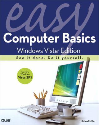 Easy Computer Basics, Windows Vista Edition 9780789737892
