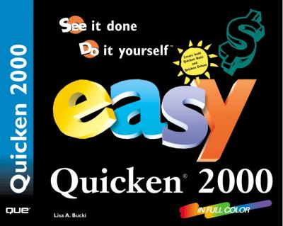 Easy Quicken 2000 9780789721754