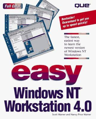 Easy Windows NT Workstation 4.0 9780789711649