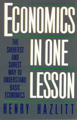 Economics in One Lesson 9780786109531
