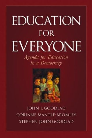 Education for Everyone: Agenda for Education in a Democracy 9780787972240