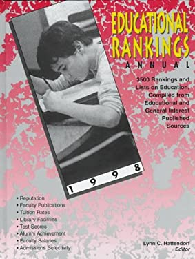 Educational Rankings Annual 9780787611613