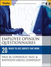 Employee Opinion Questionnaires: 20 Ready-To-Use Surveys That Work [With CDROM]