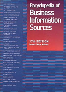 Encyclopedia of Business Information Sources 9780787658762
