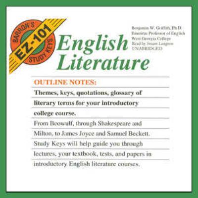 English Literature 9780786177356