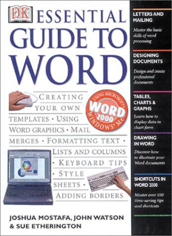 Essential Guide to Word 9780789483799