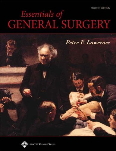 Essentials of General Surgery 9780781750035