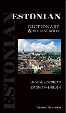 Estonian-English/English-Estonian Dictionary and Phrasebook 9780781809313