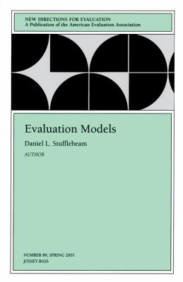 Evaluation Models: New Directions for Evaluation 9780787957551