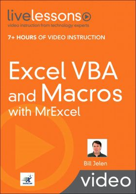Excel VBA and Macros with MrExcel [With Book(s)] 9780789739384