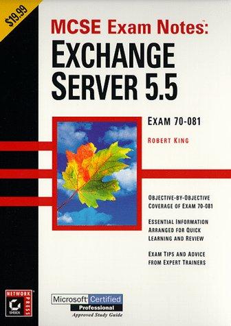 Exchange Server 5.5: Exam 70-081 9780782123029