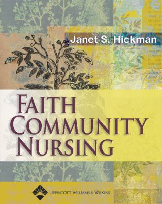 Faith Community Nursing 9780781754576