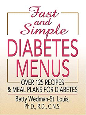 Fast and Simple Diabetes Menus 9780786295241