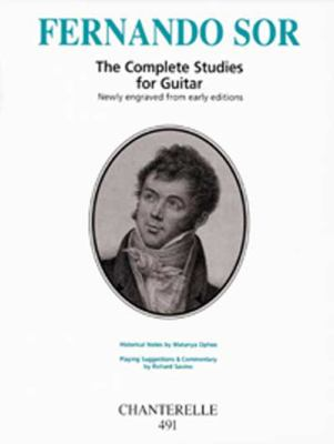 Fernando Sor: The Complete Studies for Guitar 9780786637058