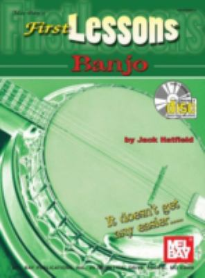 First Lessons Banjo [With CD] 9780786620937