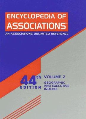 Geographic and Executive Indexes, Volume 2 9780787682903