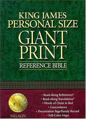 Giant Print Personal Reference Bible-KJV 9780785202646