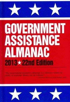 Government Assistance Almanac 2012 9780780810976
