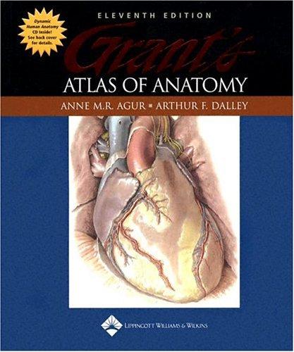 Grant's Atlas of Anatomy 9780781742566